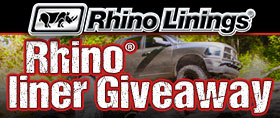 rhino liner giveaway