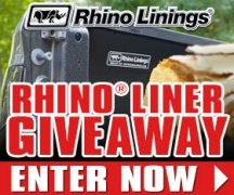 Rhino Linings Legendary Protection™ Sweepstakes